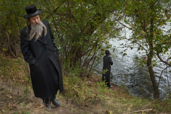 Many pilgrims set aside quiet time every day for personal reflection and prayer. Approximately 30,000 religious Jews make an annual pilgrimage to the tomb of Breslover Rabbi Nachman's tomb in Uman, Ukraine for Rosh Hashanah. The pilgrimage is unique because it attracts men from across the spectrum of Judaism. In making the pilgrimage, they believe that Rabbi Nachman will intercede on their behalf on Yom Kippur, the Jewish day of atonement.