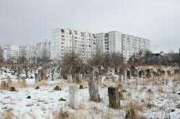 Jewish Cemetary, Kalush, Ivano-Frankivsk region, February 2014