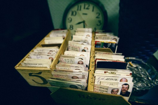 Identity cards for each inmate are kept in spectial boxes. These contain all the essential information: term served, which labour is prescribed, and where the inmate goes for his obligatory work hours. Labour Treatment Profilactorium for alcohol addicted in Belarus. LTP is a part of the penal system and Belarus is the only country in the world that still practices the punishment of obligatory incarceration for addicts. There are five LTP in Belarus, each housing about 1600 inmates. One LTP is for women, the others are all male. The main treatment is labour, and camomile tea.
