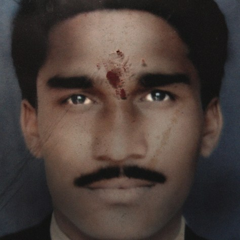 Kiran Devraoji Satone, 28, owed 80,000 Indian rupees (US$1,204). He hung himself in his family house on January 18, 2007 from a wooden plank in the ceiling.