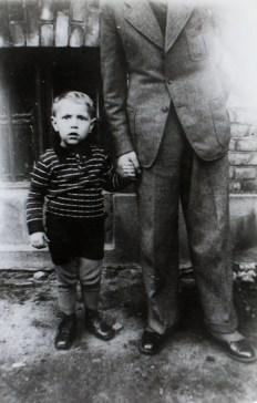 Peter Bundt, as a child in Königsberg.