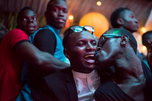 The audience watches and celebrates at the Mister and Miss Pride competition. Kampala, Uganda. August 7, 2015. © Diana Zeyneb Alhindawi