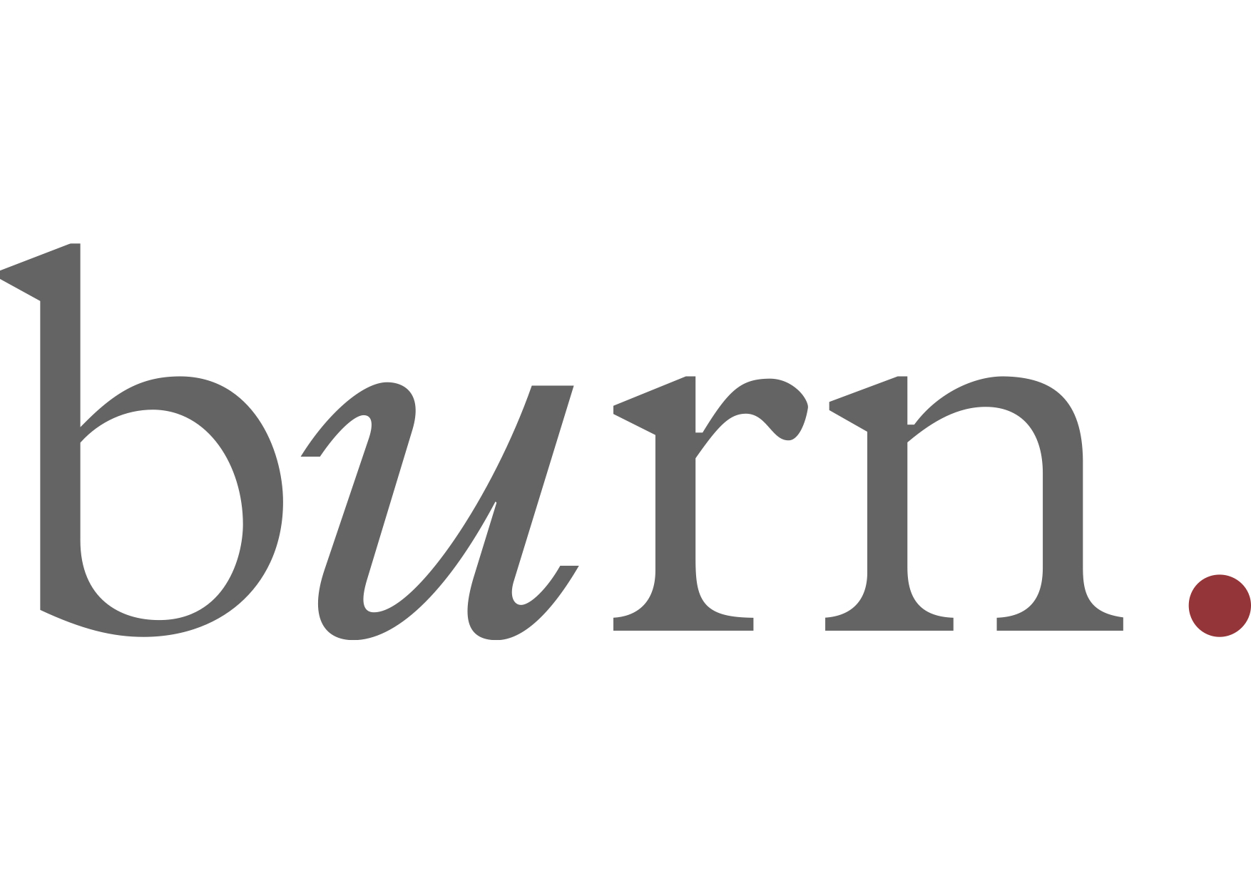 Burn Logo Grey On White Copia Burn Magazine
