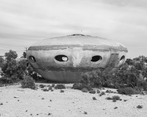 Flying Saucer, Coober Pedy, Australia, 2016.