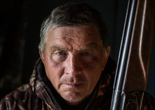 Valeriy, 60. (He is my uncle, my father's younger brother) . He is the head of our family in the settlement. There were about 20 family members living there, but recently more and more people leave. He is a hunter in the 5th generation. Katangsky District, Irkutsky region. Russia, 2017