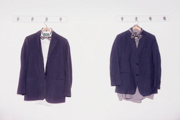 La ropa que habitualmente utilizan para Shabat.