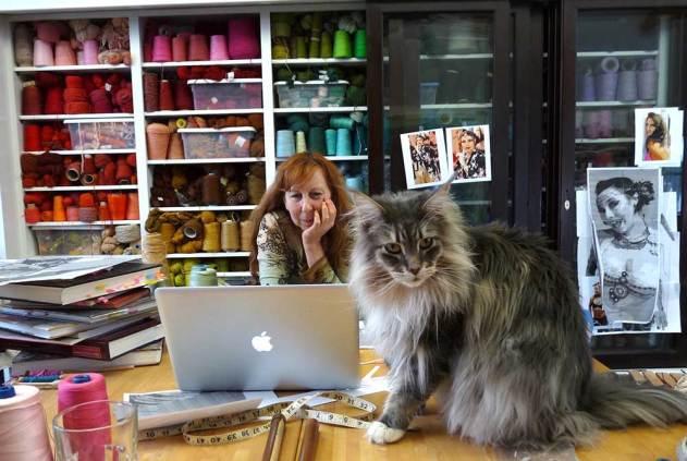 Barbara working with Darwin