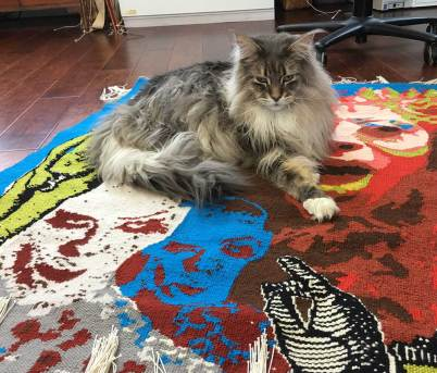 Darwin on Temptation Tapestry