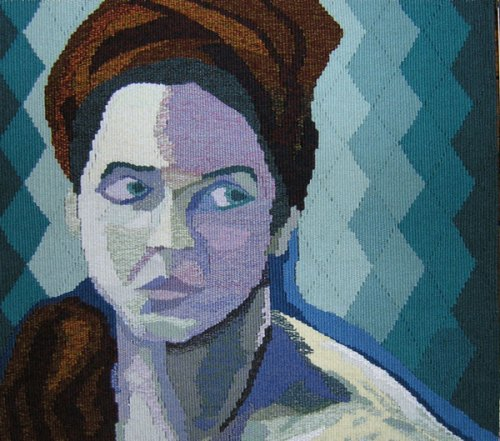 Woman With Red Turban