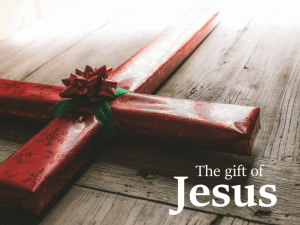 The Gift of Jesus