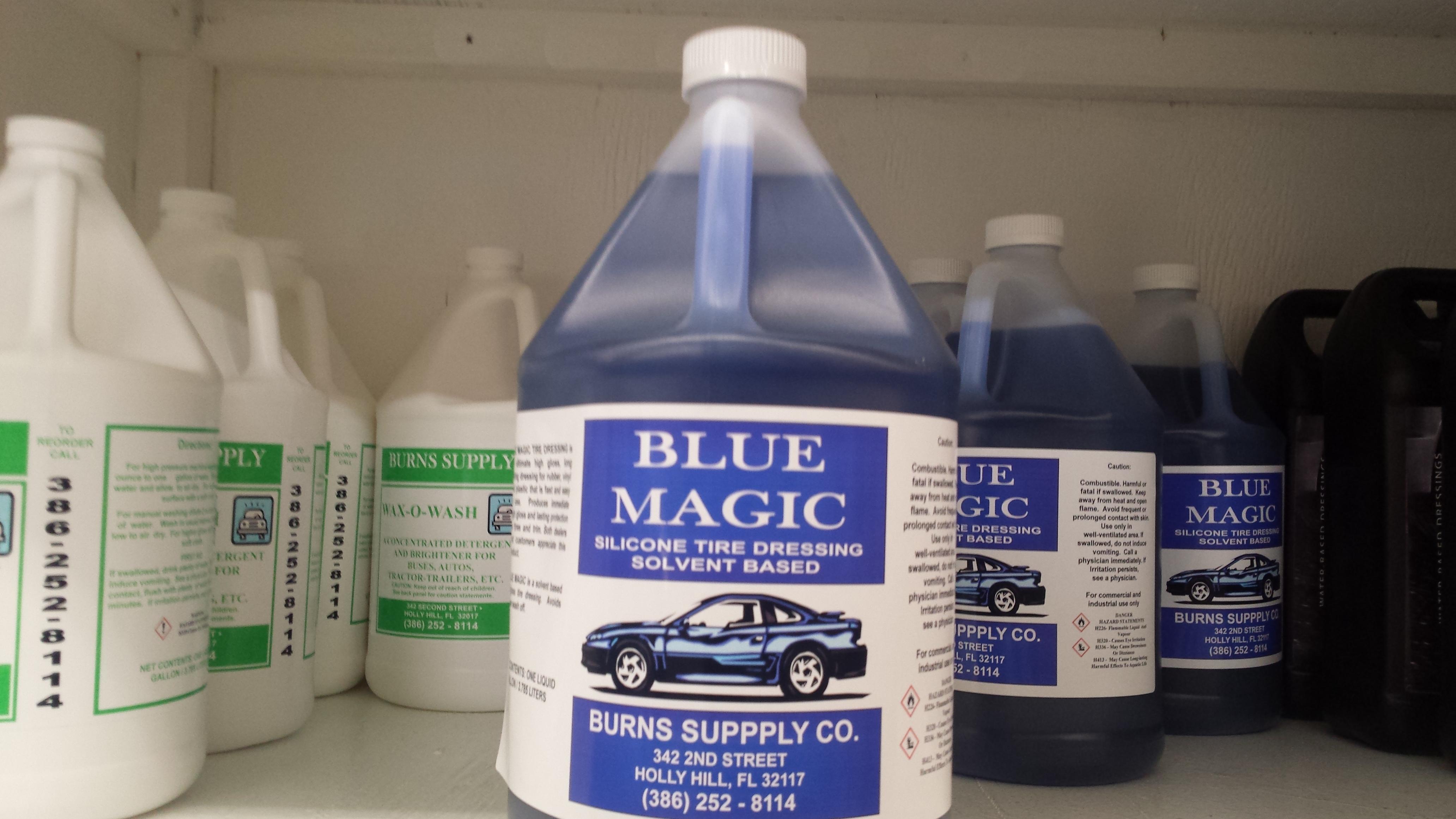 Blue Magic Solvent Silicon Tire Dressing  Gallon