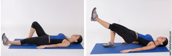 Image result for Hip Extension with Leg Lift