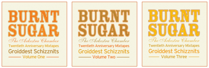 20th Anniversary Mixtapes ― GROIDDEST SCHIZZNITS ― Volumes One, Two, & Three