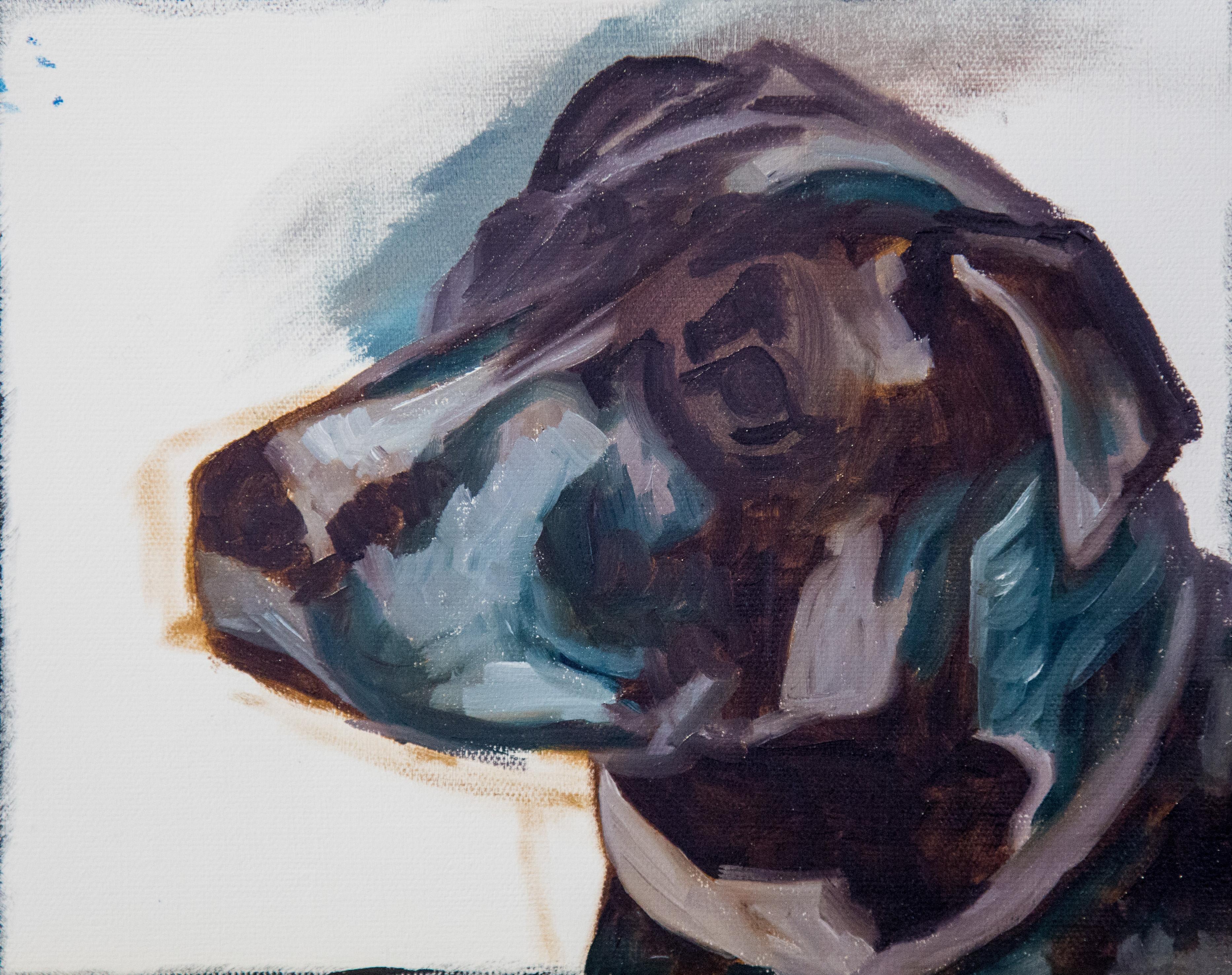 Black Dog Paint Along – Part 1