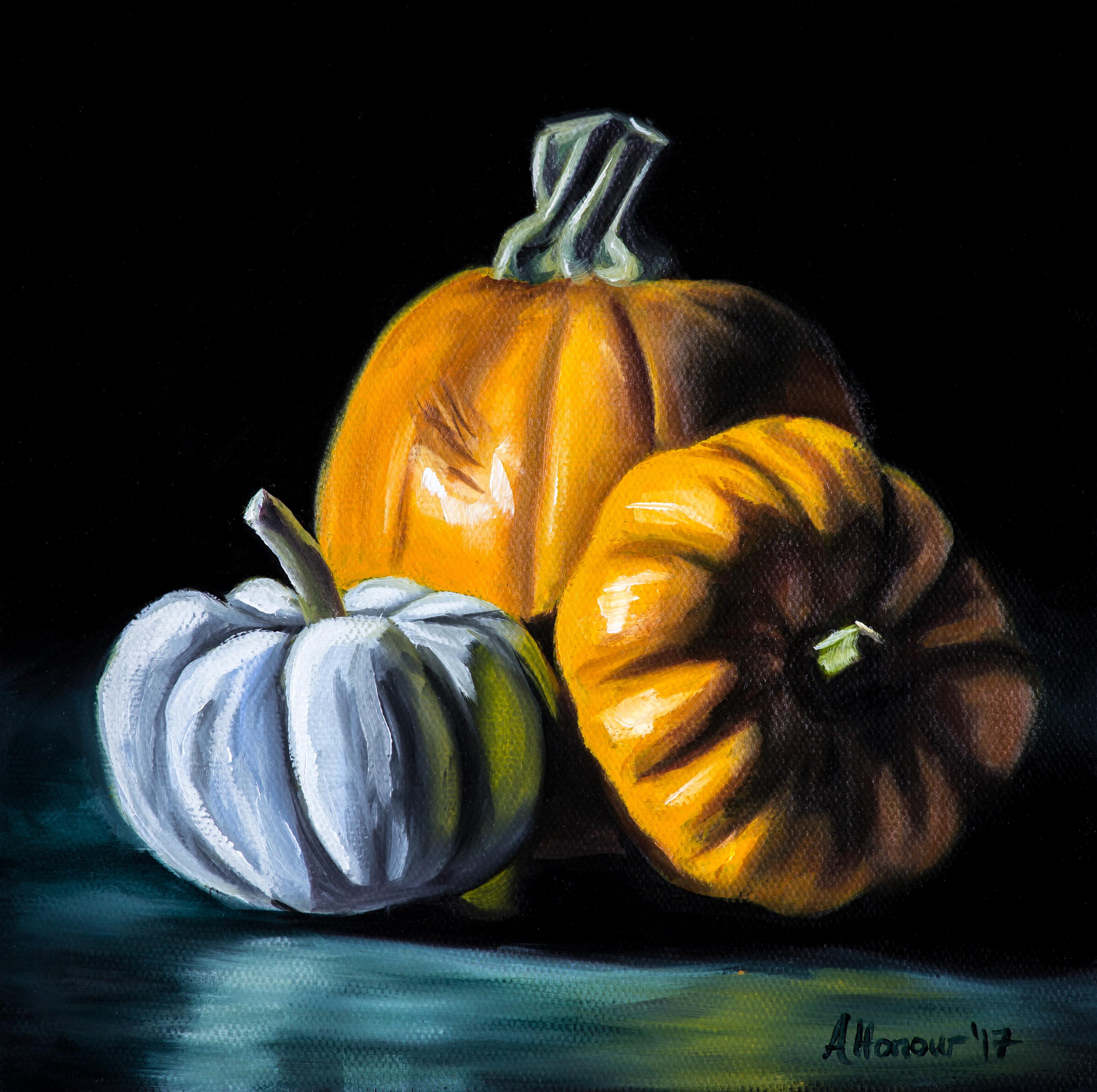 Third Alla Prima Pumpkin Attempt