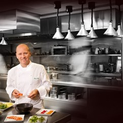 Kitchen Chief Ikea Rack Exclusive In The With Three Michelin Star Chef Heinz Beck