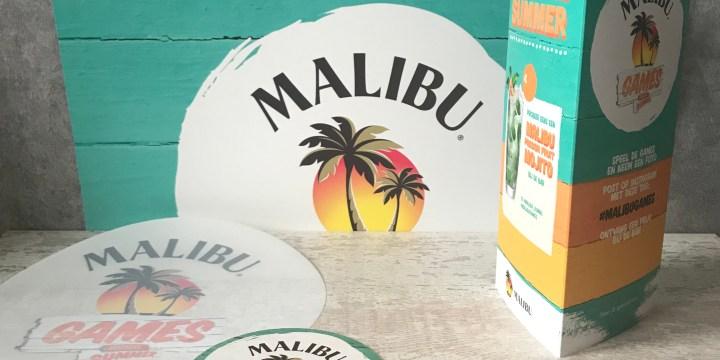 Zomeren met Malibu