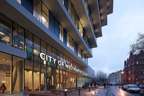 City Of Westminster College - Burohappold Engineering