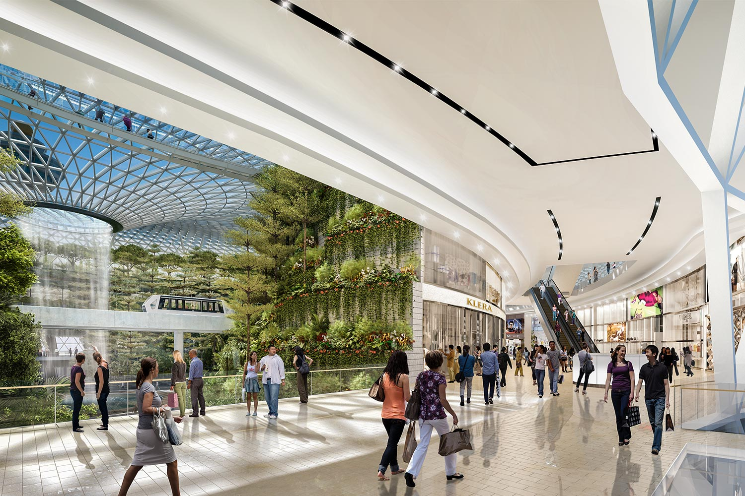 Jewel Changi Airport to open in 2019  BuroHappold Engineering
