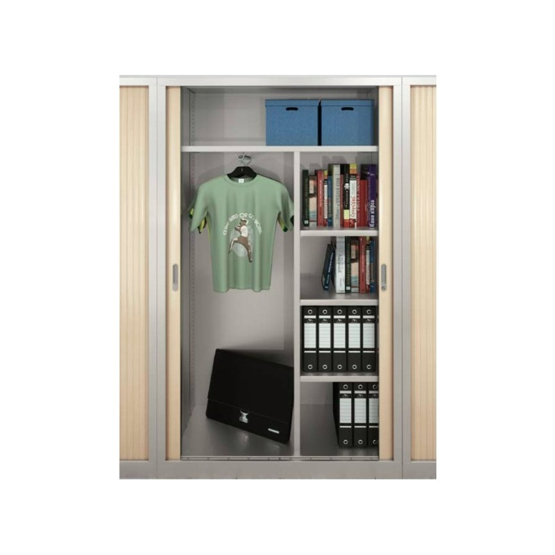 armoire rideau penderie direct system metalic
