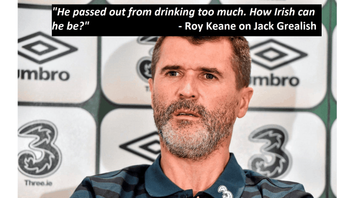 Roy keane on Jack Grealish