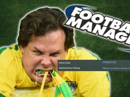 Football Manager 2015 game status