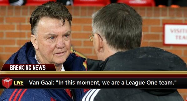 Van Gaal on Manchester United