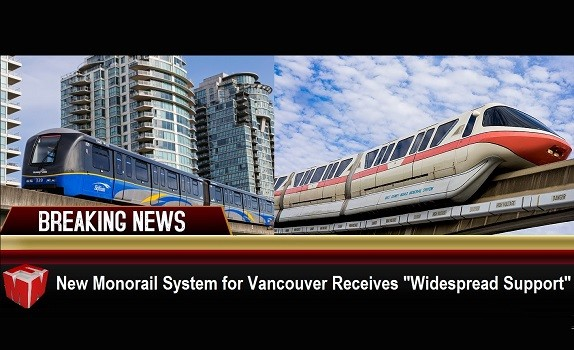 Vancouver monorail coming soon