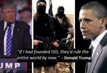 Trump Obama | Who would make a better terrorist leader? Join the debate on Facebook and Twitter…