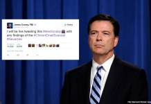 FBI Director James Comey To Live Tweet Election Day 'In Case Anything Comes Up' (AP Photo/Susan Walsh)