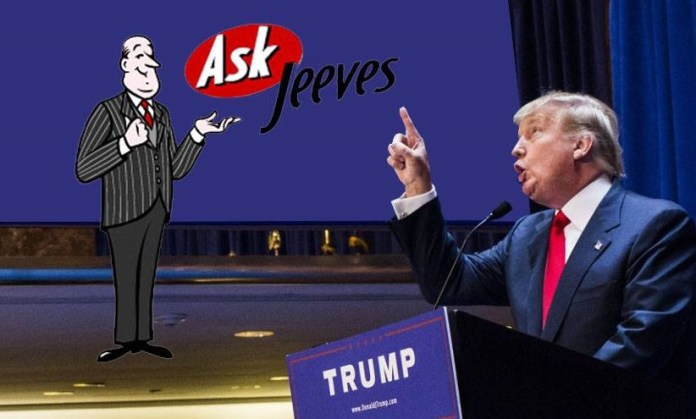 Trump Ask Jeeves