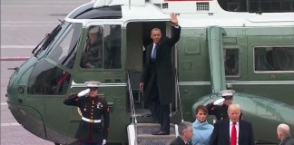 President Obama Tells Helicopter Pilot To 'Head North And Not Stop Until Canada'