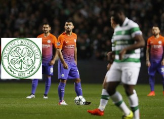 Sergio Aguero Opens Up About The Possibility Of Celtic Move | Credit: Reuters.