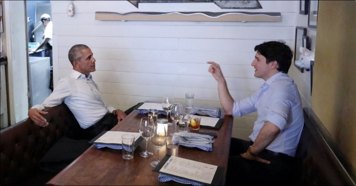 Trudeau Offers Barack Obama Asylum in Canada