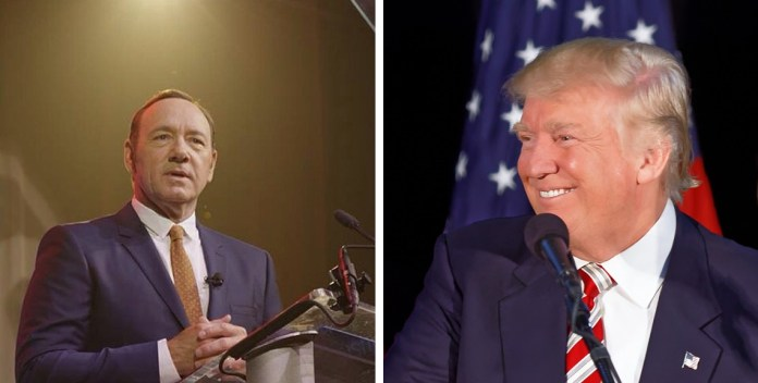 Trump Urges Kevin Spacey To Consider Career In Politics