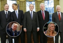 Trump Asks Former Presidents What They Did When They Were Sued By A Pornstar   Trump Former Presidents