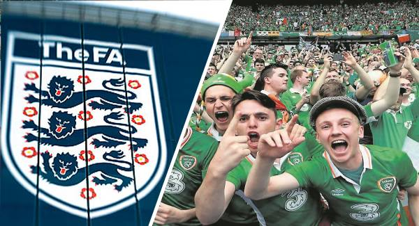 England FA Looking To Rent Irish Fans To Send To Russia Instead Of English