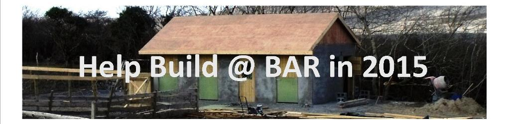 Help Build @ BAR in 2015