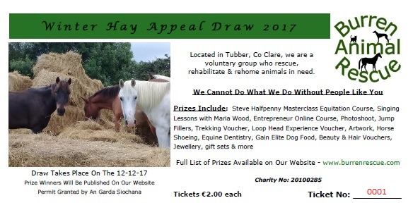Winter Hay Appeal Draw 2017