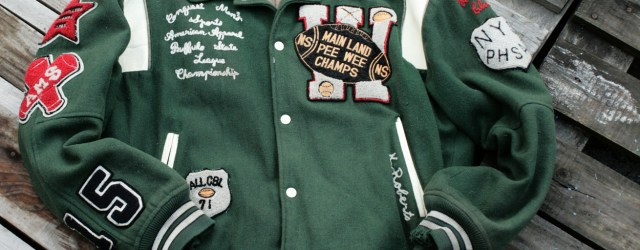 Letterman jacket by Chevignon