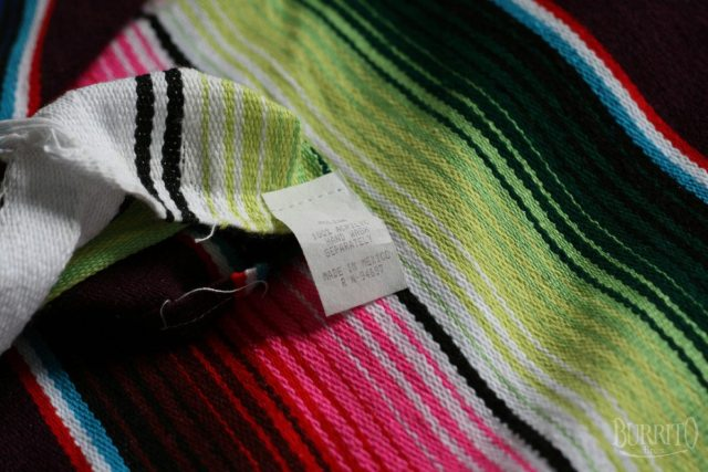 Mexican Blanket Hot Rod Decke