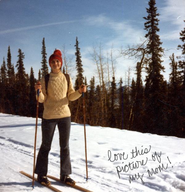 my mom in Alaska | Burritos & Bubbly