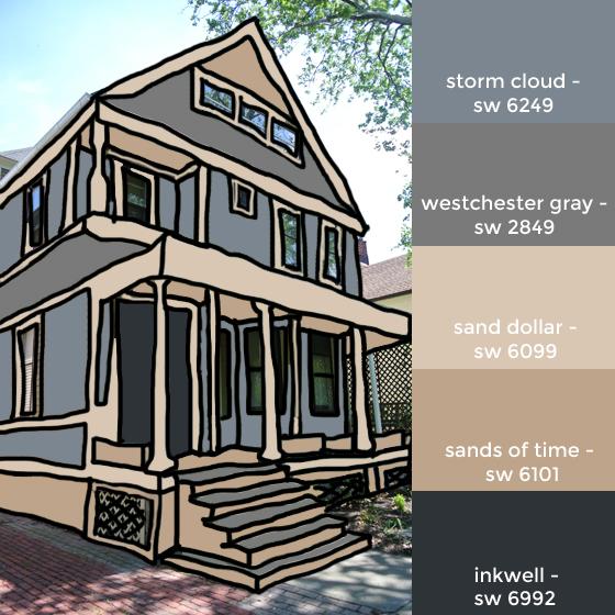 house colors mockup