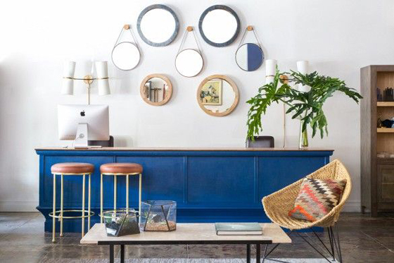 inspiration: decorating with blue