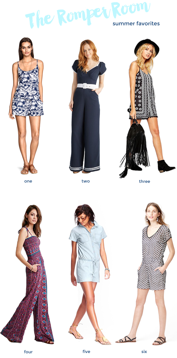 favorite rompers for summer