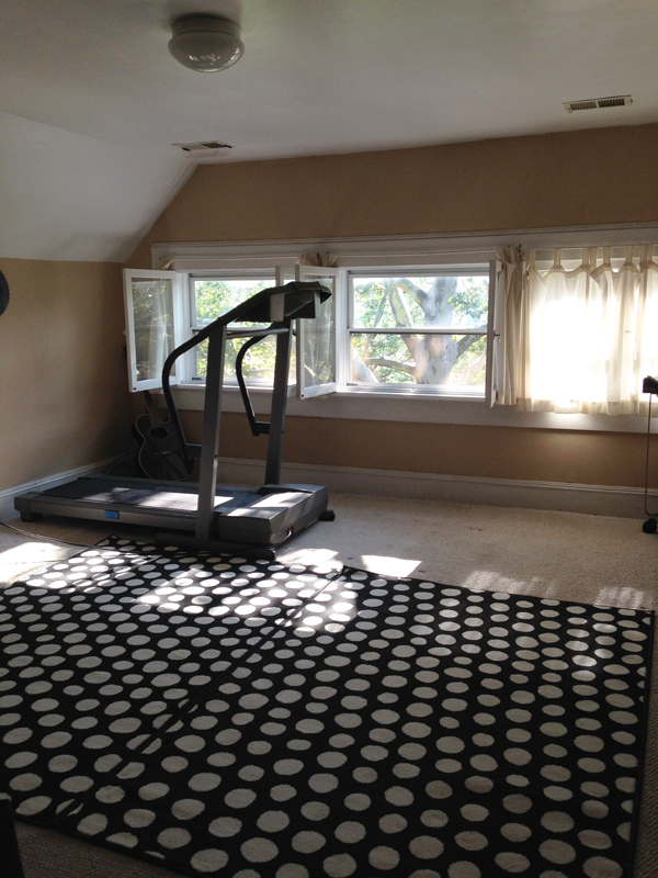 home tour: the exercise room