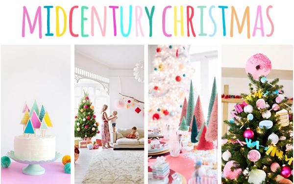 midcentury christmas inspiration