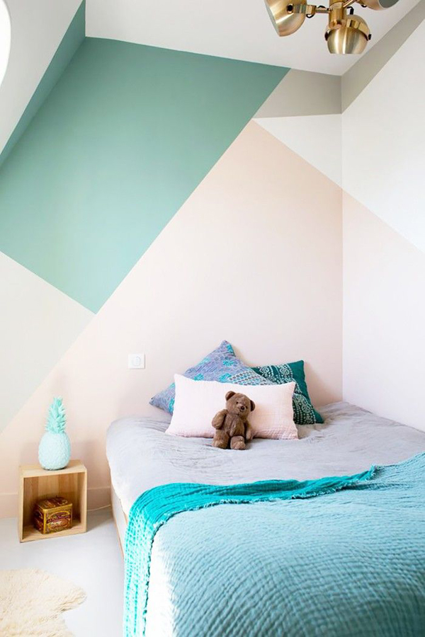 inspiration: multicolor walls