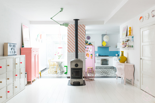 Dream House: Candy Colors in The Netherlands