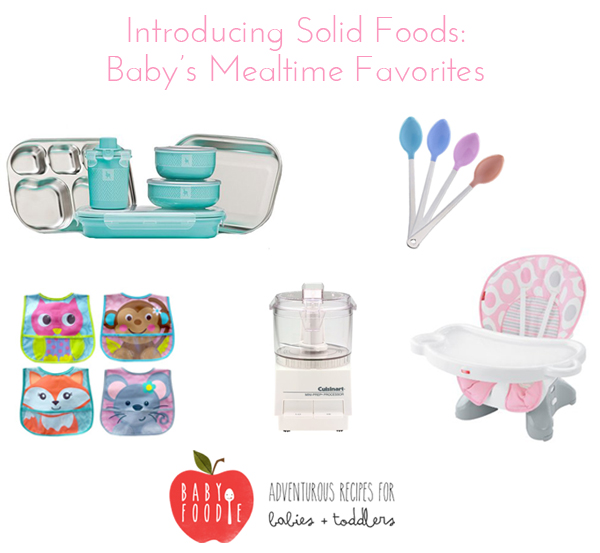 introducing solid foods: baby's mealtime favorites / Burritos and Bubbly